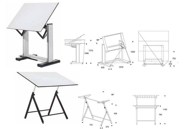 Mesas dibujo tecnico ideas de disenos Mesa para dibujo tecnico